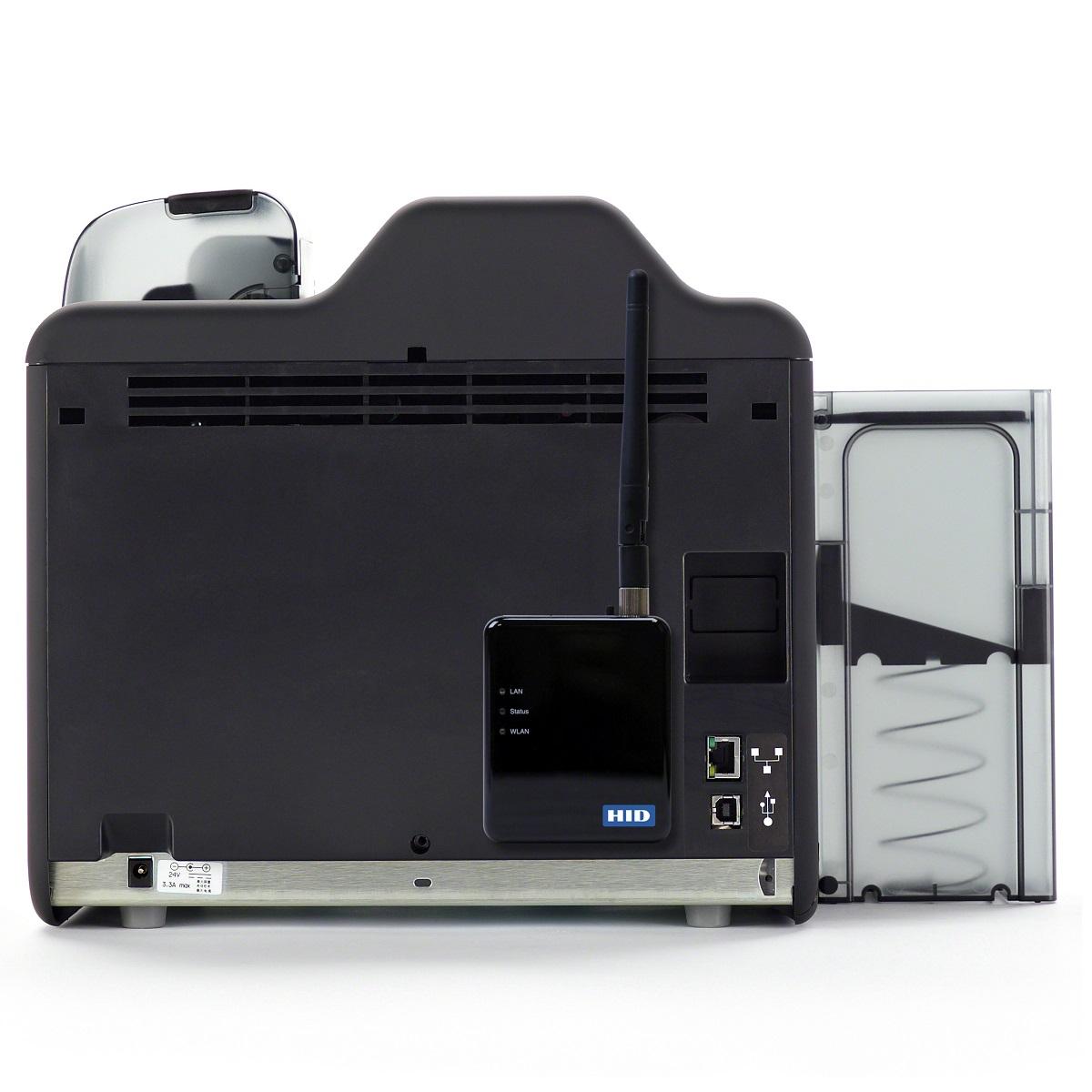 093600 fargo hdp5600 high def id card printer single sided 600 dpi