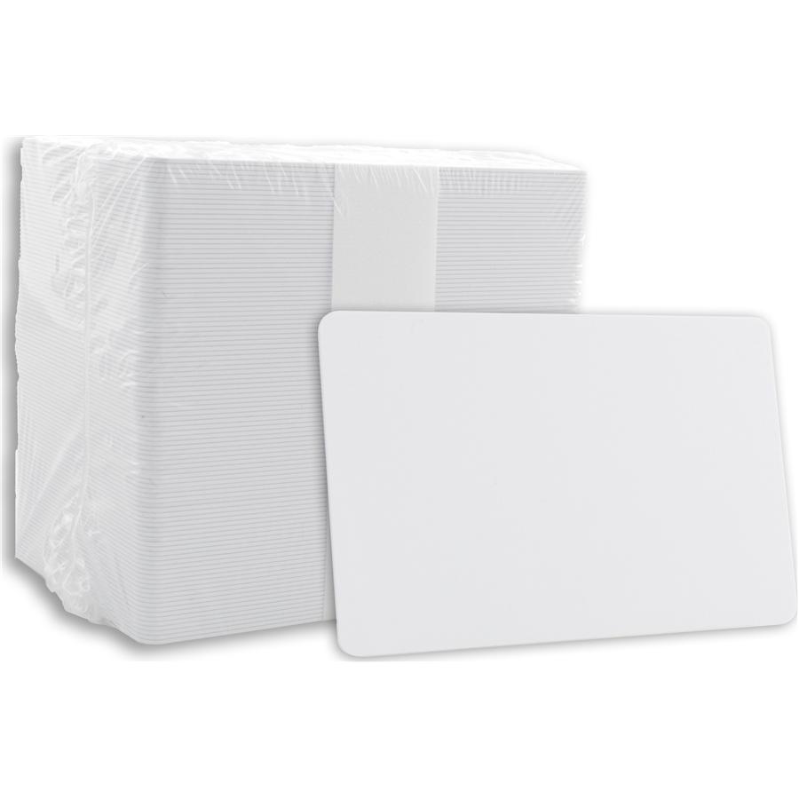 Light Blue 30 mil CR80 Graphic Quality PVC Cards 500//Box